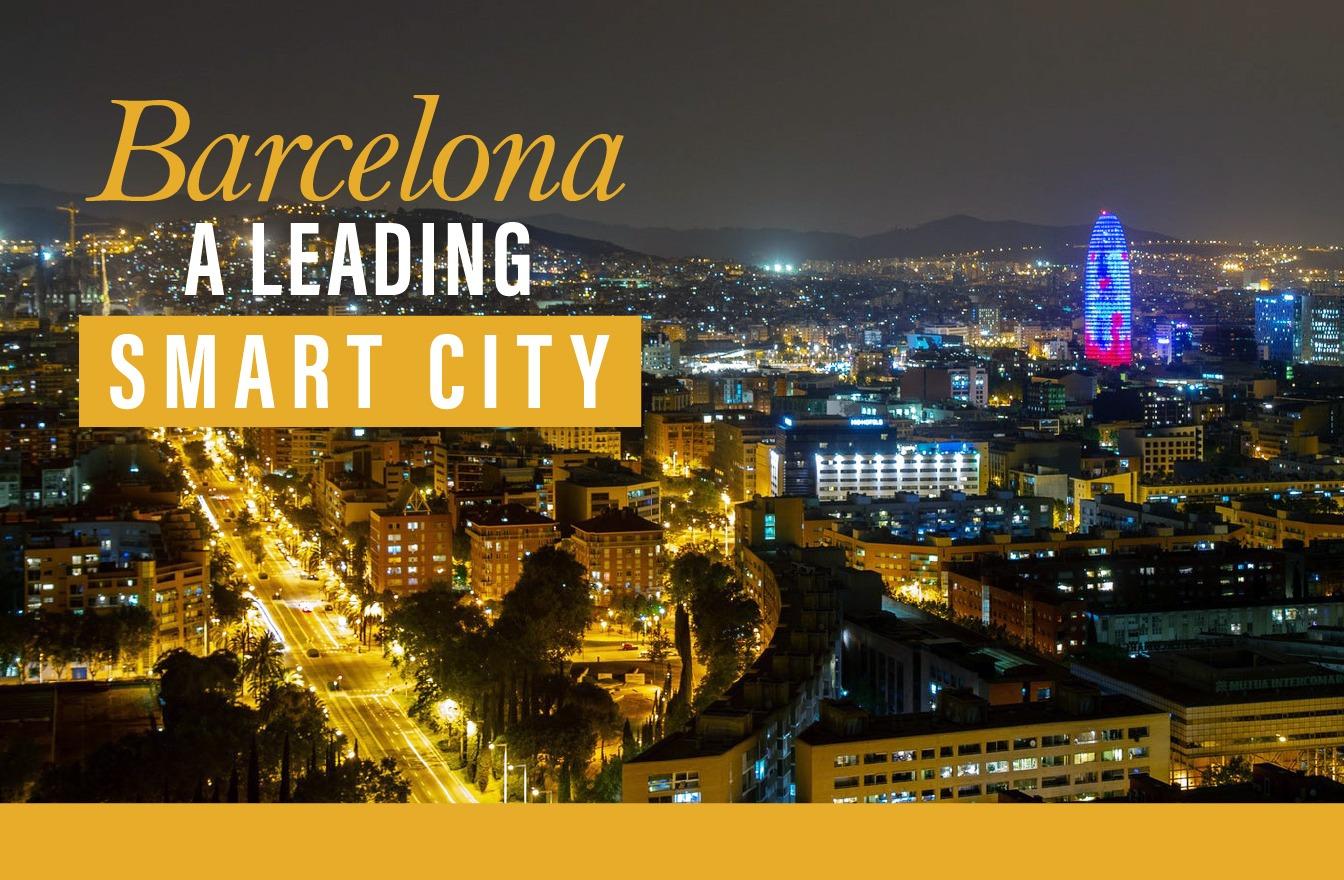Smart city o ciudad inteligente Barcelona