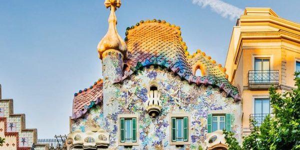 La casa batlló de Barcelona, edificio emblemático