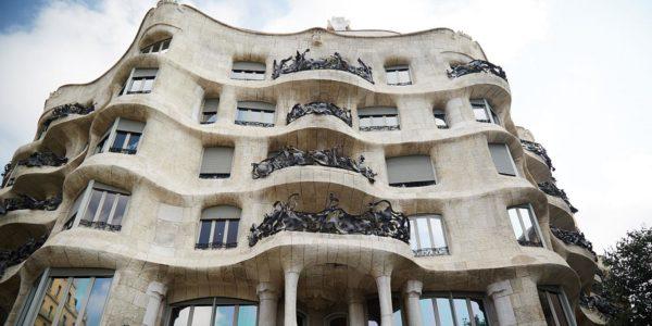 La pedrera, edificio singular de Barcelona