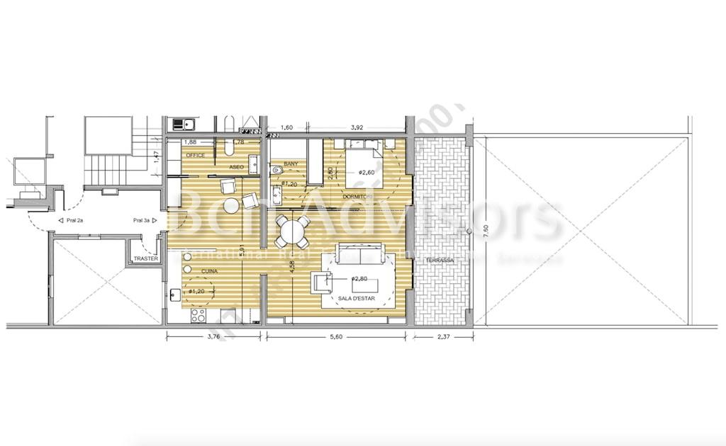 Inmejorable oficina con terraza en Paseo de Gracia image 20