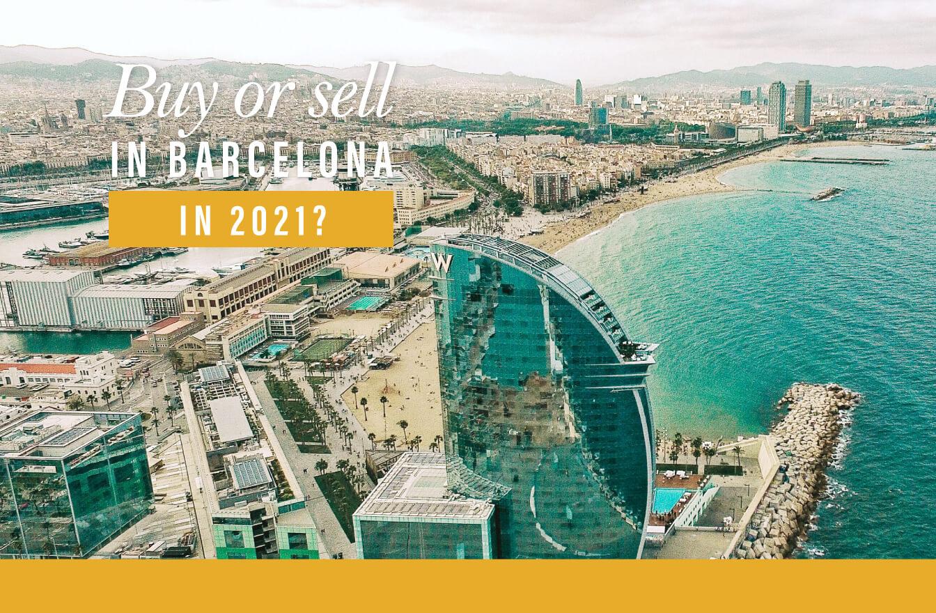 ¿Es buen momento para comprar o vender casa en Barcelona?
