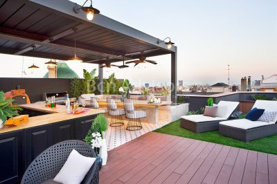 Spectacular luxury penthouse with 4 suites and 2 fantastic terraces in Sant Gervasi