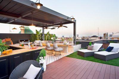 Espectacular ático de lujo con 4 suites y 2 fantásticas terrazas en Sant Gervasi