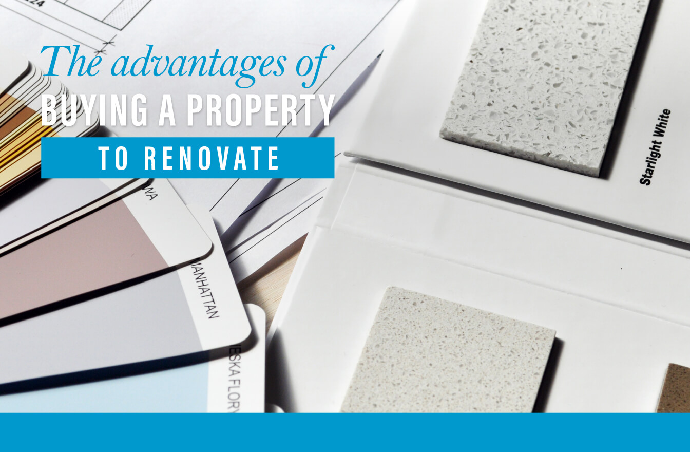 Buy a property to refurbish