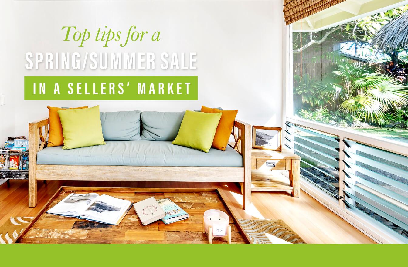 Top Tips Spring Summer Sale