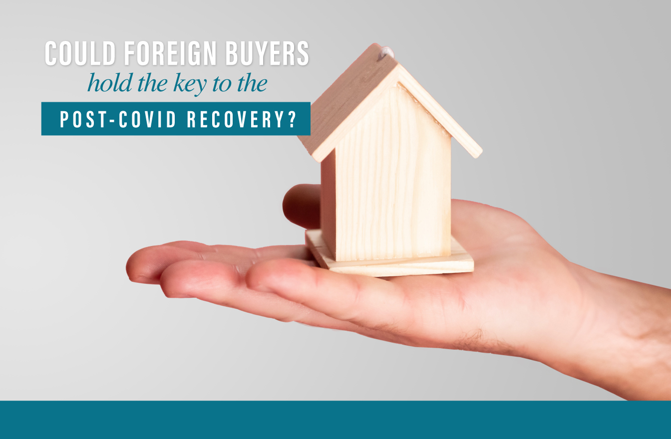 Foreign buyers recovery post-COVID market