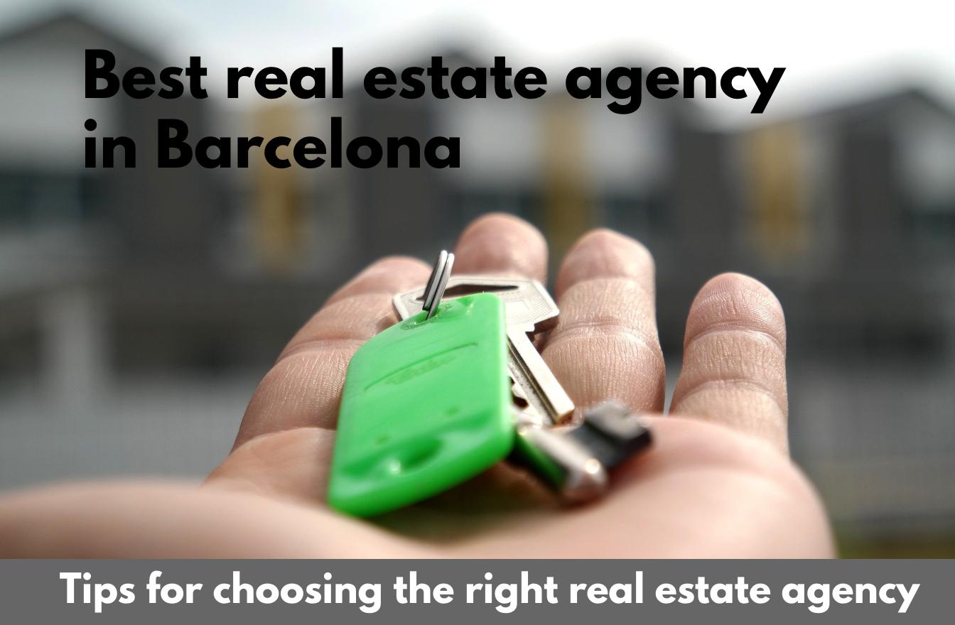 Best real estate agency in Barcelona
